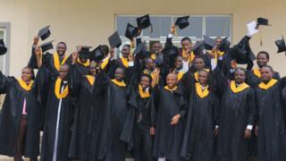 AUST graduates in Abuja, Nigeria