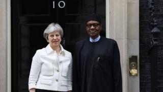 Buhari na Theresa May