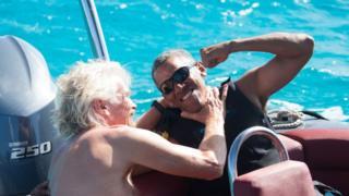 Obama dan Sir Richard