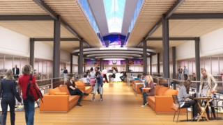 A concept image of Newport Market