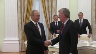 سفر بولتون به مسکو؛ اختلاف بر سر پیمان موشکهای میانبر
