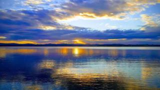 Dawn at Loch Leven