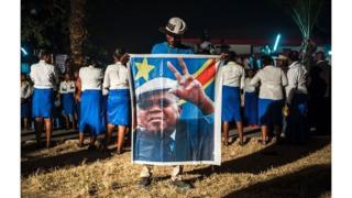 Des partisans d'Etienne Tshisekedi en 2016