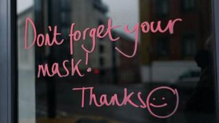 don't-forget-your-mask-written-on-window