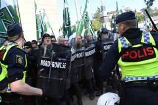Demo neo-Nazi