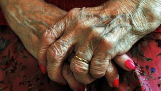 Elderly woman generic picture