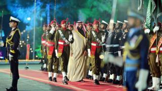 ولي العهد السعودي في اسلام آباد