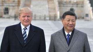 미국 도널드 트럼프 대통령과 중국 시진핑 주석의 양자 회담이 '무역 전쟁'을 끝낼 수 있을지가 가장 큰 관건이다