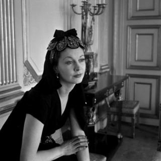 Vivien Leigh at the British Embassy, Cecil Beaton