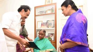 திமுக தலைவர் பதவி: ஸ்டாலின் வேட்பு மனு தாக்கல்