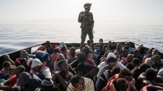 İtalya göçmen botu