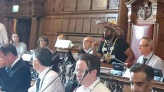 Magid Magid, Lord Mayor of Sheffield