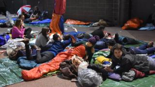 Rough sleepers for Byte Night Cardiff