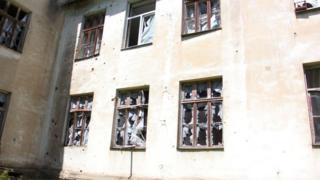 Красногоровка: последствия обстрела. Май 2017