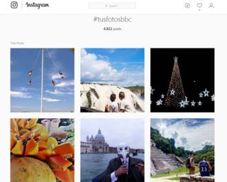 #TusFotosBBC en Instagram