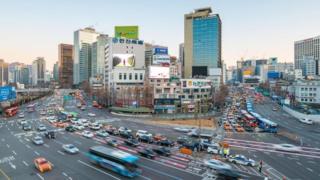 شوارع كوريا الجنوبية