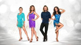 Kellie Bright, Katie Derham, Jay McGuiness and Georgia May Foote