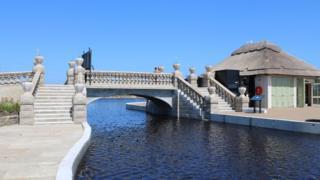 Great Yarmouth Venetian Waterways boating lake reopens