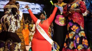 Election de Miss Ronde Ouganda