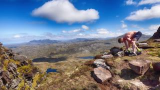 Path repair work in Assynt
