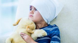Ребенок после химиотерапии
