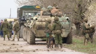 Российские силовики в Дагестане, февраль 2017 года