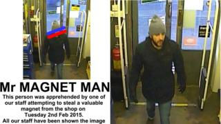 Images of man convicted of theft