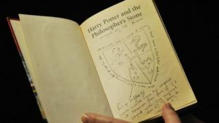 Copy of Harry Potter copy which sold for a record price