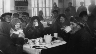 Чайная в Харькове, 1924 год