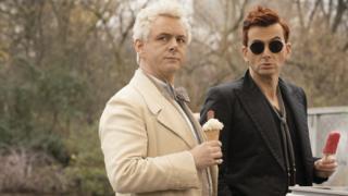 Michael Sheen and David Tennant