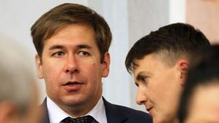 Новиков и Надежда Савченко