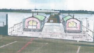 Possible designs for Shotley Pier