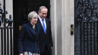 این نخستین دیدار نخست وزیران بریتانیا و اسرائیل از زمان روی کار آمدن ترزا می است