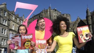 Fringe festival launch