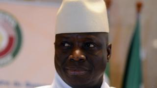 Yaya Jammeh, candidat pour un cinquième mandat