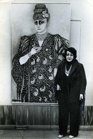 Katia Granoff Galerisi'nde 1972 Paris