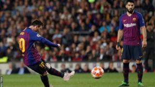 Messi amaze gutsindira Barcelone ibitego 99 ari hanze y'urubuga rw'amahina