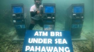 ATM BRI di Pulau Pahawang