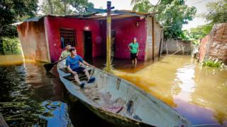Inundaciones en Puerto ordaz