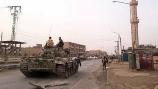 نیروهای حامی دولت سوریه شهر شرقی ابوکمال را در ماه نوامبر در اختیار خود گرفتند.