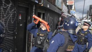 Cheetham Hill raids