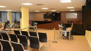Jersey Care Inquiry meeting room