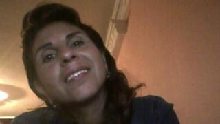 Foto de Dora Lilia Gálvez en su perfil de Facebook.