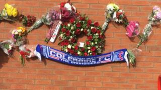 Coleraine FC scarf