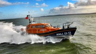 Swanage Shannon-class lifeboat