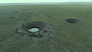Vista aérea do Polígono