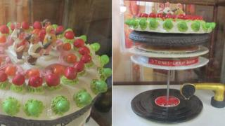 Let It Bleed album cover by the Rolling Stones in ceramic