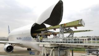 Airbus loading wings