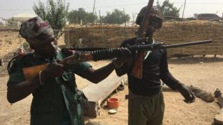 Mji wa Maiduguri umegubikwa na machafuko katika vita dhidi ya Boko Haram - lakini pia unapambana kimya kimya na vita dhidi ya madawa