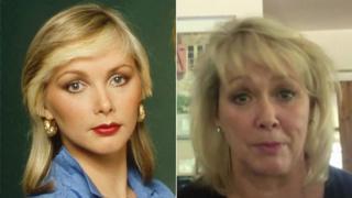 Cheryl Baker en 1980 y ahora